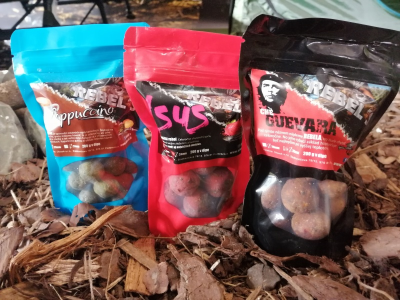 Rebel´s boilies Cappuccino 200g