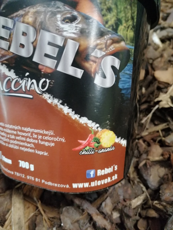 Rebel´s boilies Cappuccino 700g