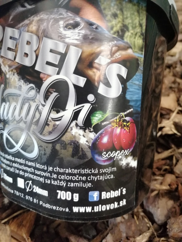 Rebel´s boilies Lady Di 700g