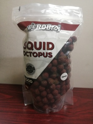 ROBroj boilie SQUID OCTOPUS 15mm/1kg