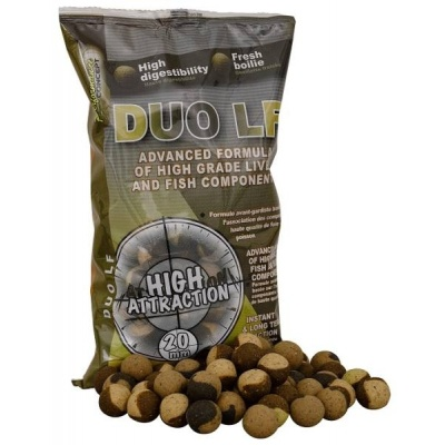 STARBAITS DUO LF 20mm/1kg boilies