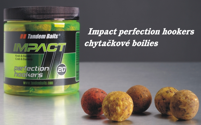 TANDEM BAITS IMPACT perfection hookers 250ml