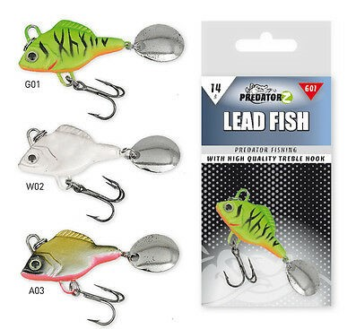 PREDATOR-Z LEAD FISH 14g