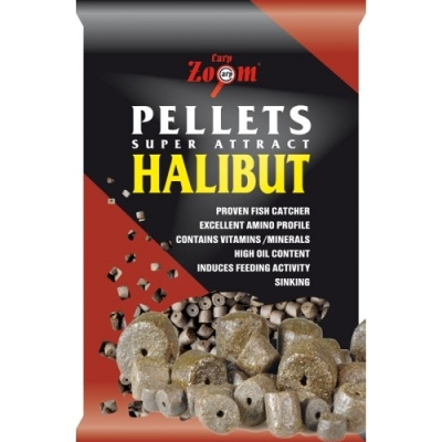 HALIBUT PELLETS PRE-DRILLED 800g